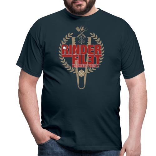 RINDERFILET KRÜMELT NICHT - Männer T-Shirt