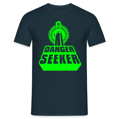 der DANGER SEEKER - colorierbar - Männer T-Shirt