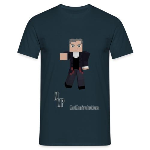 Minecraft 12th Doctor - Men's T-Shirt