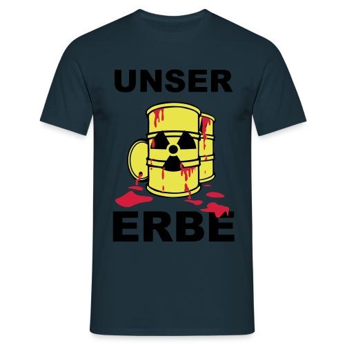 T-Shirt Frau Unser Erbe grün© by kally ART® - Männer T-Shirt