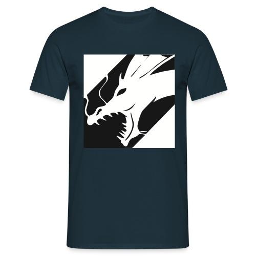Dragon White Mok - Mannen T-shirt