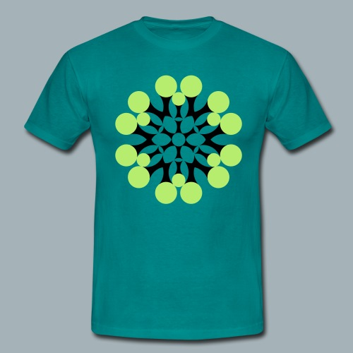 Floral Shirt Long Sleeved - Mannen T-shirt