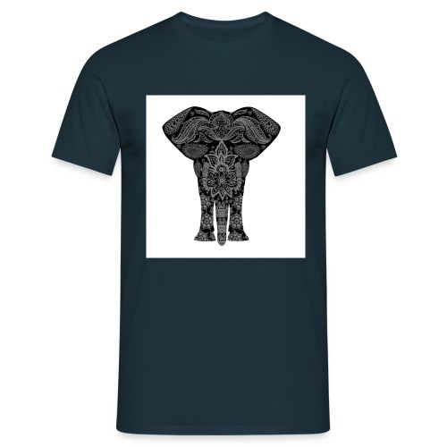 elefant - Männer T-Shirt