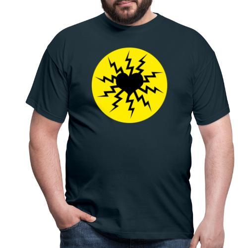 Herzlogo frei - Männer T-Shirt