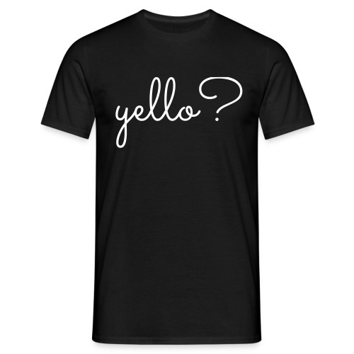 yello - Mannen T-shirt