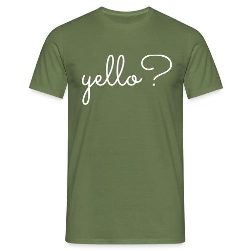yello - Mannen T-shirt