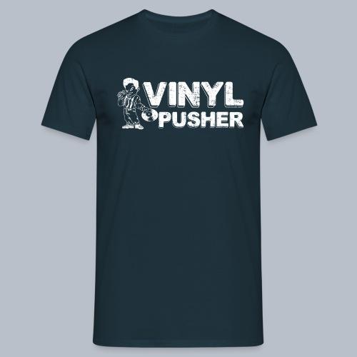PT s Vinyl Pusher White - Men's T-Shirt
