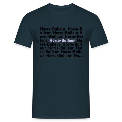 logoecriturehbhomme - T-shirt Homme