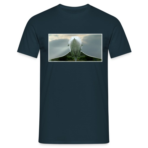 concordeclouds120dpi - Men's T-Shirt
