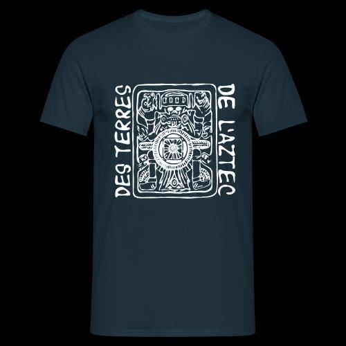 Des Terres de L'Aztec (hvid) - Herre-T-shirt