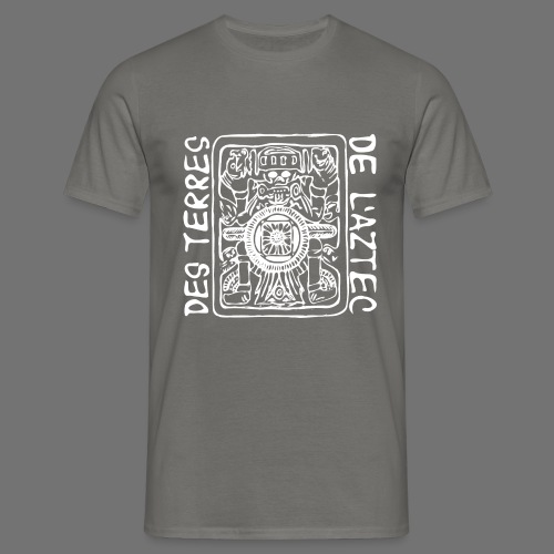 Des Terres De L'Aztec (biały) - Koszulka męska