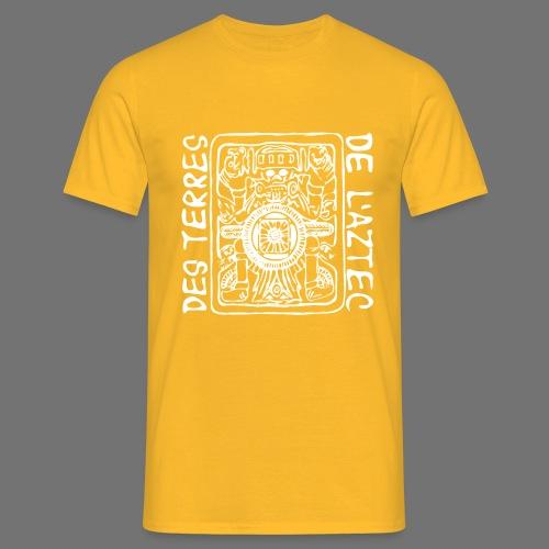 Des Terres De L'Aztec (white) - Men's T-Shirt