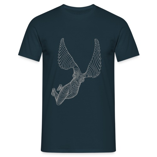 nakenangel - T-shirt herr