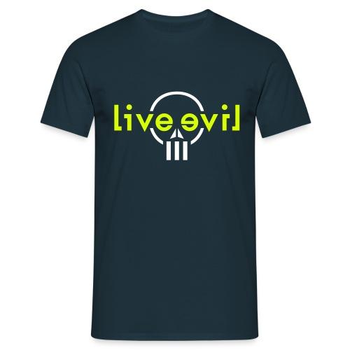 Live Evil - T-shirt Homme