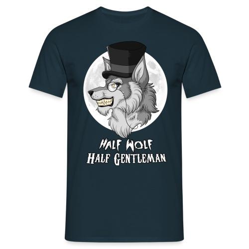 Half Wolf Half Gentleman - Koszulka męska