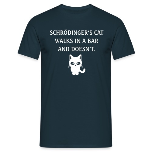 schroedingerscat - Men's T-Shirt
