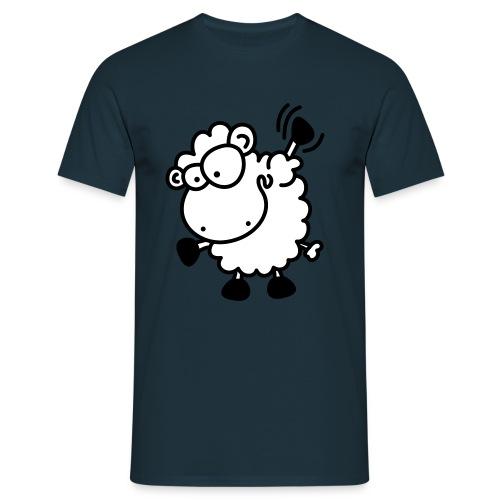 Wink Schaf - Männer T-Shirt