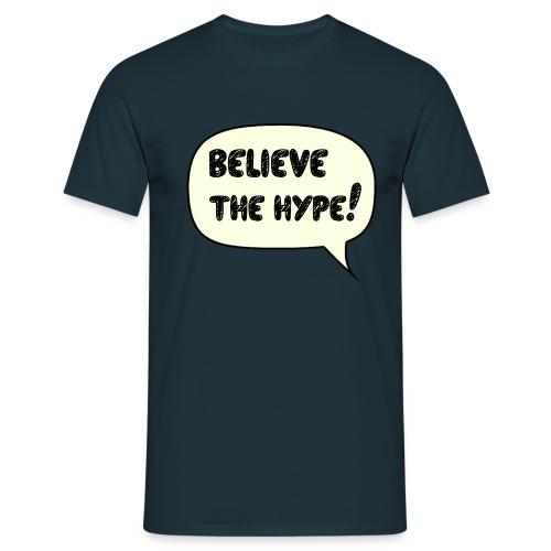 believe png - Männer T-Shirt