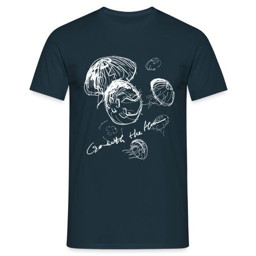 Go with the flow - Men's T-Shirt