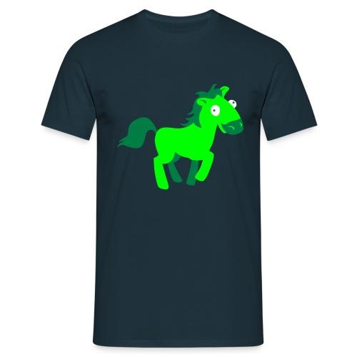 Mein erstes Pferdchen - Männer T-Shirt