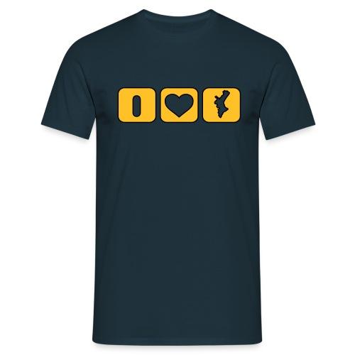 Valencian Love lateral - Xic - Camiseta hombre