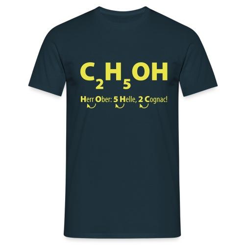 C2H5OH_Alkohol - Männer T-Shirt