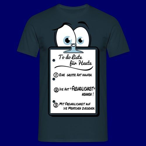 To do Liste 2 - Männer T-Shirt