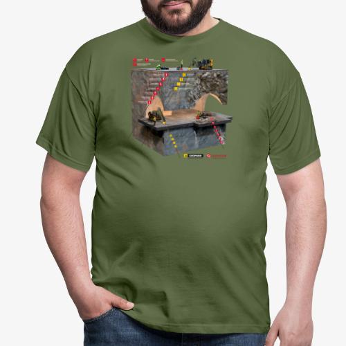 Geovisor Comadev kalliomekaniikka 4000px W - Miesten t-paita