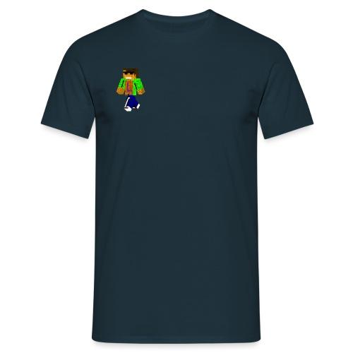 Mein Minecraftskin - Männer T-Shirt