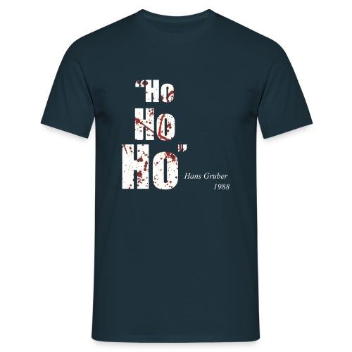 Ho Ho Ho - Hans Gruber 1988 - Men's T-Shirt