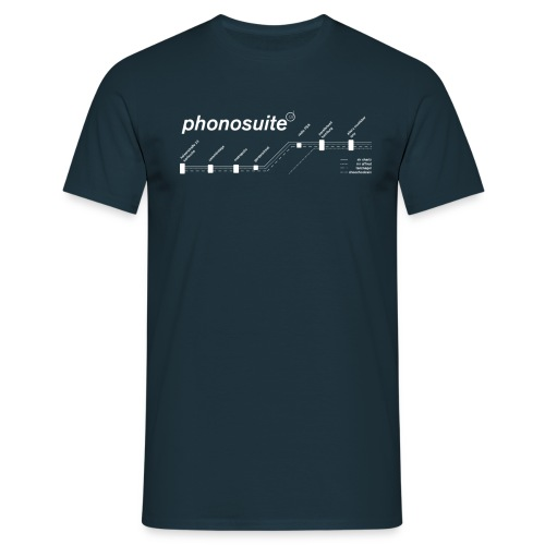 phonosuite map - Männer T-Shirt