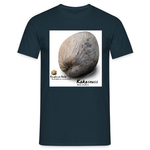 Picabeen Palm Kokosnuss - Männer T-Shirt