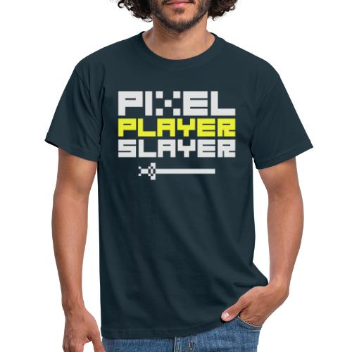 PIXEL PLAYER SLAYER - Men's T-Shirt