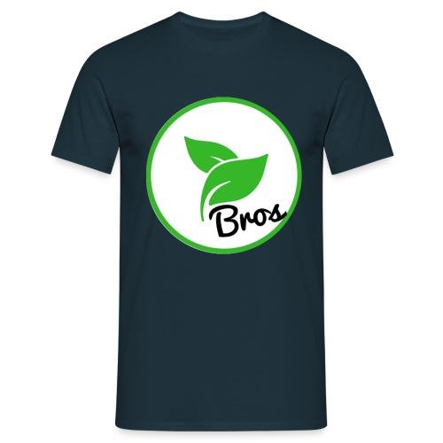 Twin Bros (Large Logo) - Men's T-Shirt