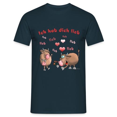 Liebe - Heiratsantrag - Männer T-Shirt