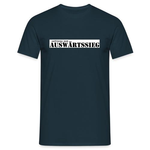 unterwegs zum auswaertssieg - Männer T-Shirt