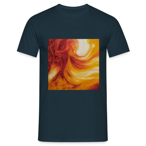Die mit dem Feuer tanzt - Männer T-Shirt