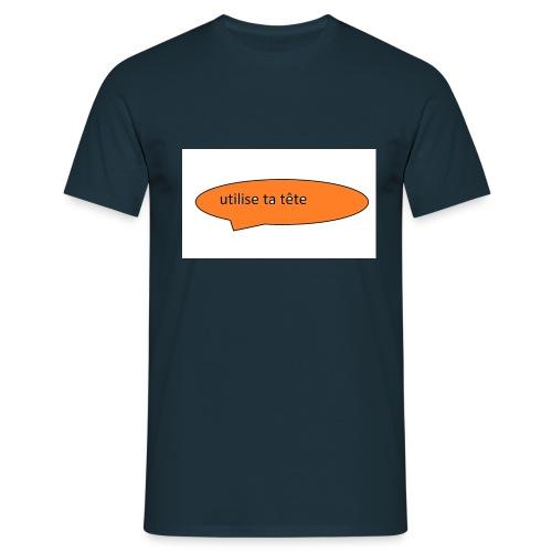 Bruk hodet - T-skjorte for menn