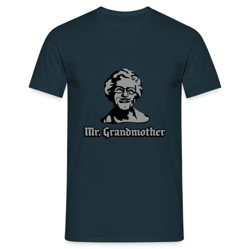mrgrandmother - T-skjorte for menn