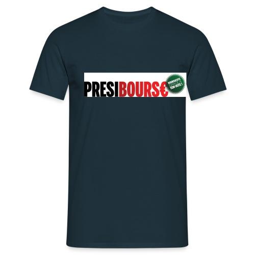 Logo Présibourse cocarde - T-shirt Homme