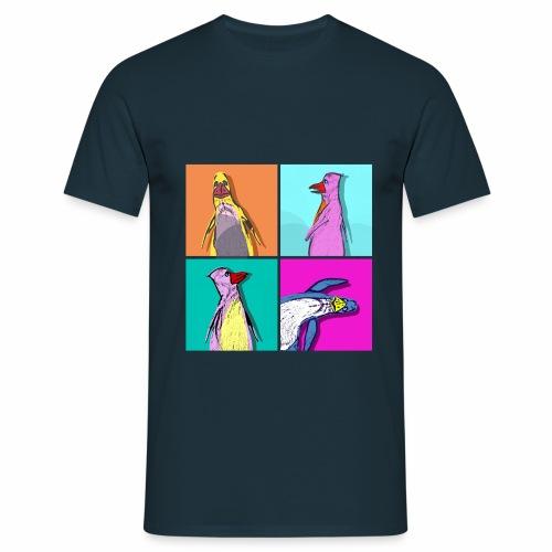 Vieh Chroniken Pingu - Men's T-Shirt