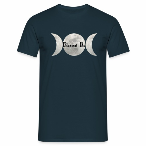 Triple Moon Blessings - Men's T-Shirt