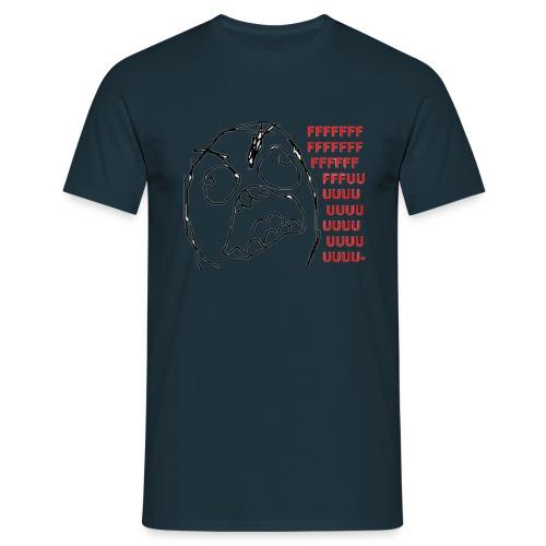 Rage guy Fuuu rage comics - T-shirt Homme