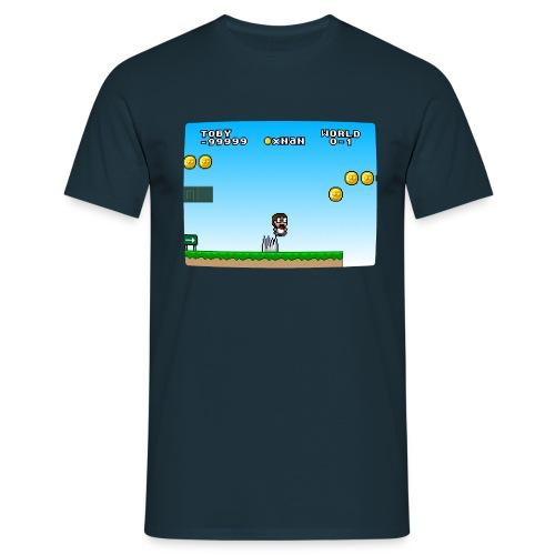 Jump n Run Toby - Männer T-Shirt