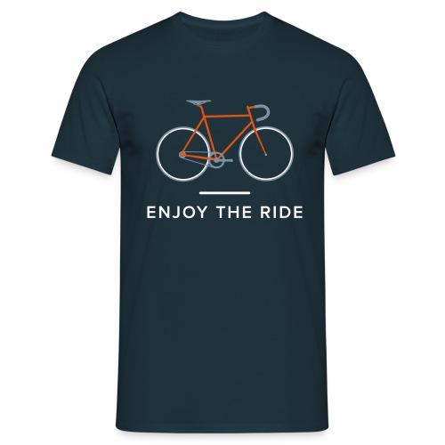 Vintage Racing Bike Retro Cycle - Men's T-Shirt