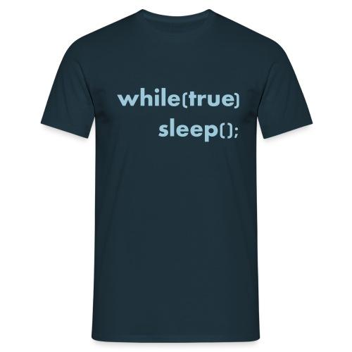 while_true - Informatikermotiv - Männer T-Shirt