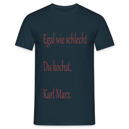 Kochkunst Shirt - Männer T-Shirt