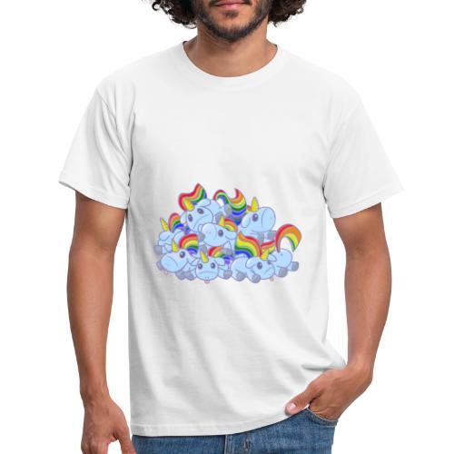 Moar unicorns! - Maglietta da uomo