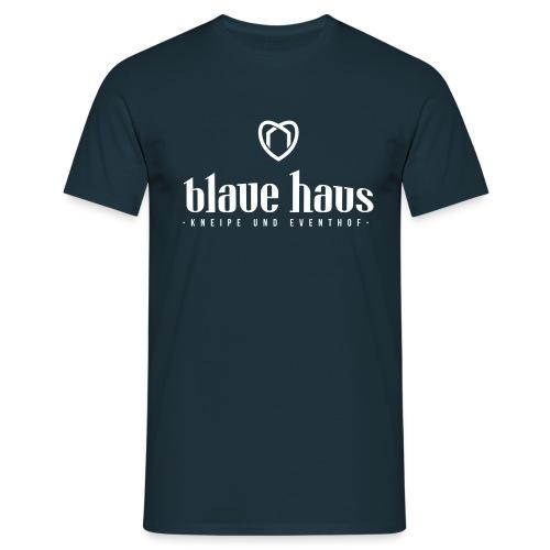 Blaue Haus Logo - Männer T-Shirt