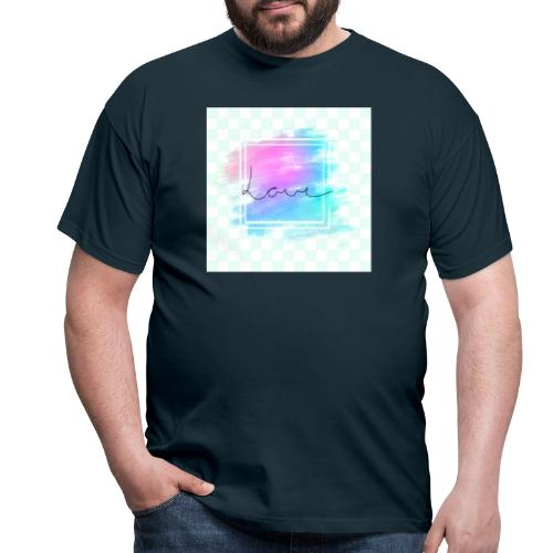 Paint - Love - Herre-T-shirt